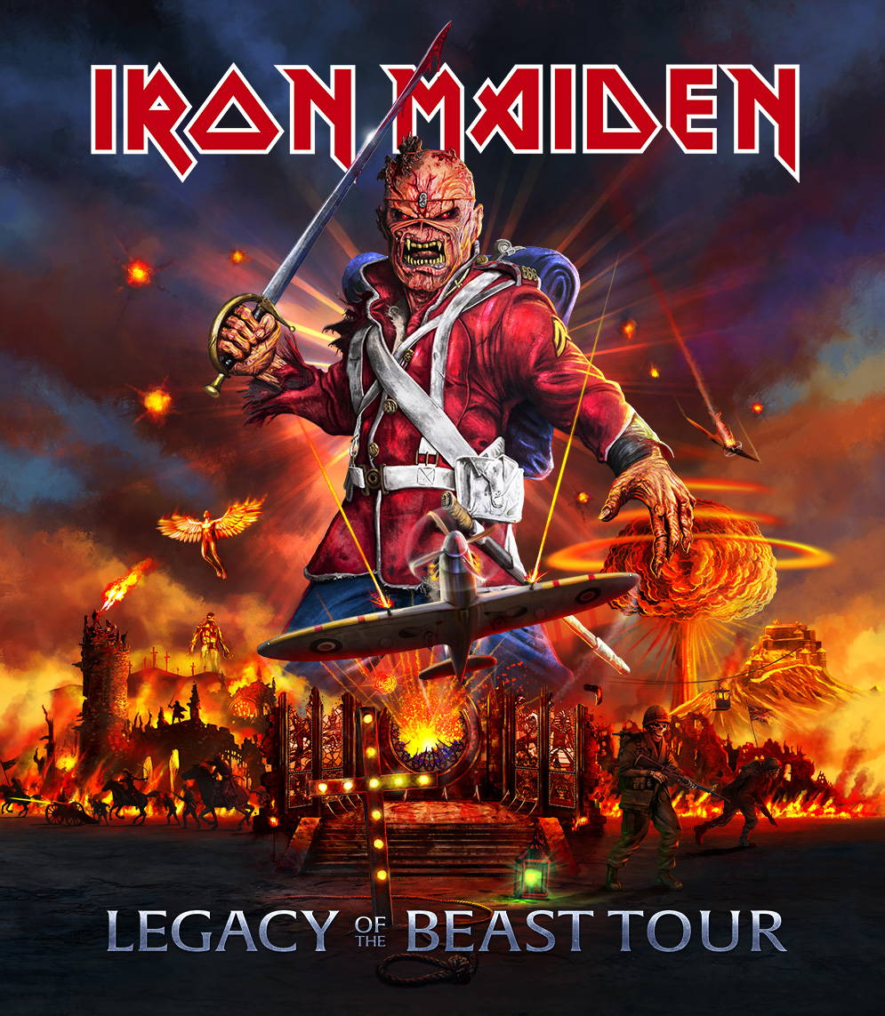 Coming soon Iron Maiden